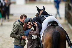 Michel Botton Jessica, FRA, Don Vito de Hus<br /> World Championship Young Dressage Horses - Ermelo 2019<br /> © Hippo Foto - Dirk Caremans<br /> Michel Botton Jessica, FRA, Don Vito de Hus