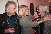 NICKY HASLAM, RACHEL JOHNSON, LYNN BARBER, Literary Review  40th anniversary party and Bad Sex Awards,  In & Out Club, 4 St James's Square. London. 2 December 2019