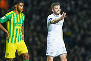 Leeds United defender Stuart Dallas (15) during the EFL Sky Bet Championship match between Leeds United and West Bromwich Albion at Elland Road, Leeds, England on 1 October 2019.