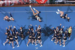 TCS Smash Dragons, Finland during All Female senior at second day of European Cheerleading Championship 2008, on July 6, 2008, in Arena Tivoli, Ljubljana, Slovenia. (Photo by Vid Ponikvar / Sportal Images).