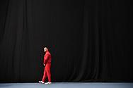 Abu Dhabi, United Arab Emirates - 2019 March 13: Athlete Pawel Czizmowski (Poland) competes while gymnastics divisioning during Special Olympics World Games Abu Dhabi 2019 on March 13, 2019 in Abu Dhabi, United Arab Emirates. (Mandatory Credit: Photo by (c) Adam Nurkiewicz)