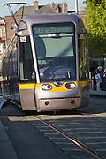 Luas, Public street car in Dublin Ireland.