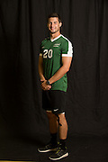 Head shots for women's soccer, cross country, women's volleyball, men's soccer and field hockey