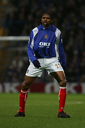PORTSMOUTH, ENGLAND - MONDAY, JANUARY 1st, 2007: Kanu of Portsmouth against Tottenham Hotspur during the Premiership match at Fratton Park. (Pic by Chris Ratcliffe/Propaganda)