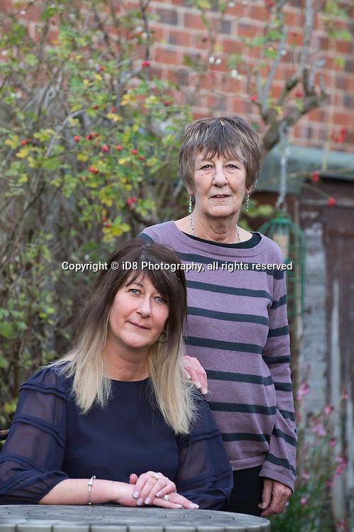 L-R Justine Jenkinson and Edwina Jenkinson