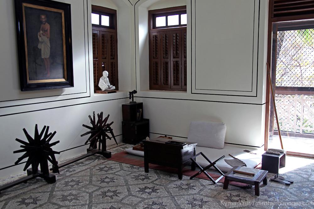 Asia, India, Mumbai. Mani Bhavan, Gandhi Research Institute and former residence.