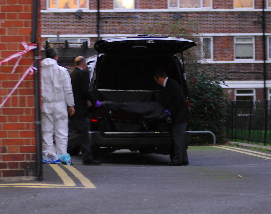 Coffin of 4 year old boy murdered by his father on a Southwark Council estate