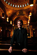 Rev. Kenneth Simpson is Pastor at St. Clement Parish in Chicago's Lincoln Park neighborhood. April 2, 2012 l Brian J. Morowczynski~ViaPhotos..For use in a single edition of Catholic New World Publications, Archdiocese of Chicago. Further use and/or distribution may be negotiated separately. ..Contact ViaPhotos at 708-602-0449 or email brian@viaphotos.com.