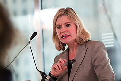 © Licensed to London News Pictures. 29/11/2018. London, UK.  Justine Greening MP speaking on developments in the Brexit debate at a People's Vote Campaign event held at the Southbank Centre in London.  Photo credit: Vickie Flores/LNP