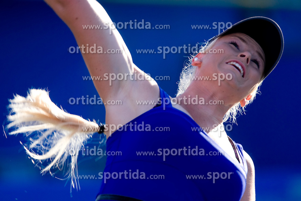 Tadeja Majeric of Slovenia at 1st Round of Banka Koper Slovenia Open WTA Tour tennis tournament, on July 20 2009, in Portoroz / Portorose, Slovenia. (Photo by Vid Ponikvar / Sportida)