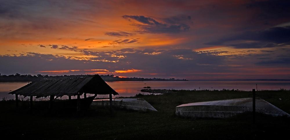 Sunrise at Lavke Victoria, Magic Safaris Home Camp.