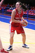 DESCRIZIONE : Latina Basket Campionato Italiano Femminile serie B 2011-2012<br /> GIOCATORE : Francesca Minali<br /> SQUADRA : College Italia<br /> EVENTO : College Italia 2011-2012<br /> GARA : Cestistica Latina College Italia <br /> DATA : 09/12/2011<br /> CATEGORIA : equilibrio<br /> SPORT : Pallacanestro <br /> AUTORE : Agenzia Ciamillo-Castoria/GiulioCiamillo<br /> Galleria : Fip Nazionali 2011<br /> Fotonotizia :  Latina Basket Campionato<br /> Italiano Femminile serie B 2011-2012<br /> Predefinita :