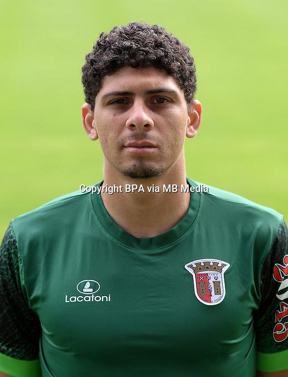 Portugal - Primera Liga NOS 2015-2016 /  <br /> ( SC Braga ) -<br /> Matheus Lima Magalhaes &quot; Matheus &quot;