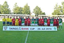 20.07.2010, An der Kreuzeiche, Reutlingen, GER,  SSV Reutlingen vs SV Werder Bremen Targo Bank Cup - Friendly Match  1. FBL 2010  im Bild  Gruppenbild mit beiden Mannschaften   EXPA Pictures © 2010, PhotoCredit: EXPA/ nph/  Kokenge+++++ ATTENTION - OUT OF GER +++++ / SPORTIDA PHOTO AGENCY
