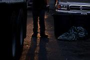 John Hathaway in Sunset Park, Brooklyn. August 2008.