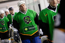 Ildar Rahmatullim of Olimpija during Humanitarian hockey derby of legends between Olimpija and Jesenice, on 7 March 2014, in Hala Tivoli, Ljubljana, Slovenia. Photo by Urban Urbanc / Sportida.com
