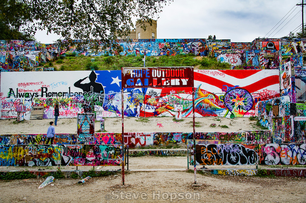 Hope Outdoor Gallery, Austin, Texas, November 15, 2015.