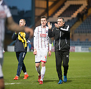 3rd February 2018, Dens Park, Dundee, Scotland; Scottish Premier League football, Dundee versus Ross County; Ross County boss Owen Coyle at the end