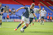 Bailey Wright (Preston North End) stops the cross into his penalty box during the Pre-Season Friendly match between Bolton Wanderers and Preston North End at the Macron Stadium, Bolton, England on 30 July 2016. Photo by Mark P Doherty.