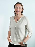 ROTTERDAM - Carole Thate, Vice-voorzitter<br /> Commissaris Maatschappelijk Verantwoord Verenigen . ALV van de KNHB in het Feijenoord Stadion; FOTO KOEN SUYK