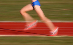 Runner at 23rd International Meeting Brezice 2008, on September 10, 2008, Brezice, Slovenia.   (Photo by Vid Ponikvar / Sportal Images).