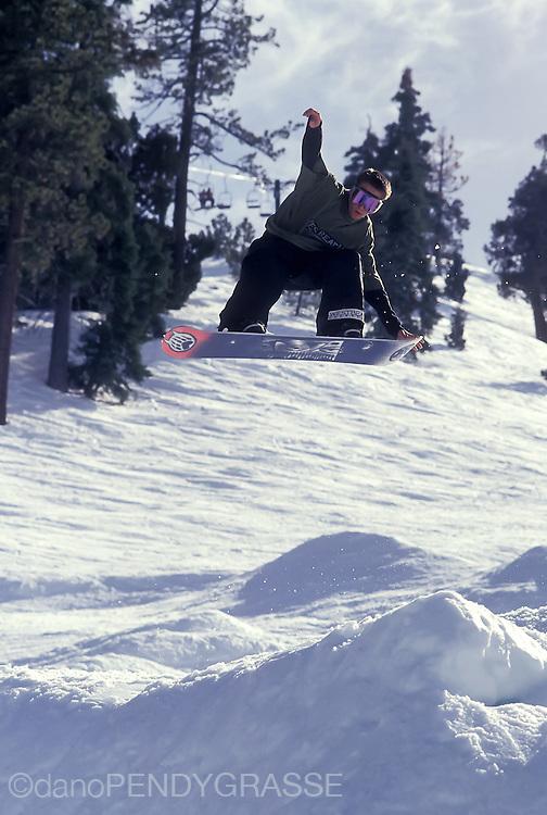 Devun Walsh at Bear Mountain in 1993.