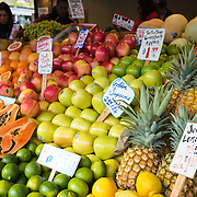 Fresh fruit at Pike Place Market in Seattle, Washington