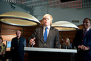 MAYOR BORIS JOHNSON;   The Galleries of Modern London launch party at the Museum of London on May 27, 2010 in London. <br /> -DO NOT ARCHIVE-© Copyright Photograph by Dafydd Jones. 248 Clapham Rd. London SW9 0PZ. Tel 0207 820 0771. www.dafjones.com.