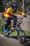 2018 UCI BMX Supercross<br /> Round 7 Santiago Del Estero (Argentina)<br /> Practice<br /> #103 (GARCIA RECUERO Veronica) ESP