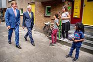 Koning bezoekt buurtinitiatieven in Amsterdam