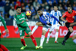 November 23, 2018 - Leganes, MADRID, SPAIN - Youssef En-Nesyri of Leganes during the Spanish Championship La Liga football match between CD Leganes and Deportivo Alaves on November 23th, 2018 at Estadio de Butarque in Leganes, Madrid, Spain. (Credit Image: © AFP7 via ZUMA Wire)