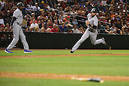 PHOENIX, AZ - APRIL 30:  Ben Paulsen #10 of the Colorado Rockies rounds third bases to score in the ninth inning against the Arizona Diamondbacks at Chase Field on April 30, 2016 in Phoenix, Arizona.  (Photo by Jennifer Stewart/Getty Images)