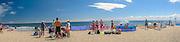 Hel (woj. pomorskie) 20.07.2016 Cypel Helski - plaża .
