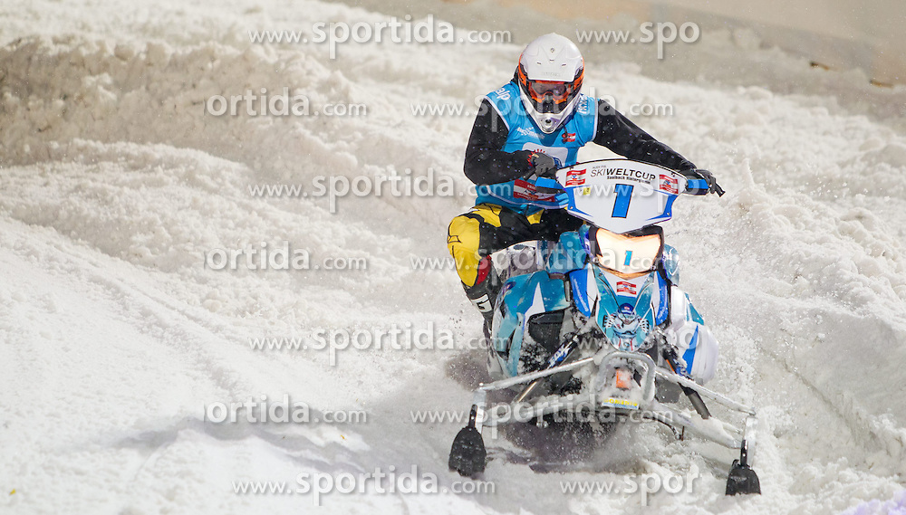 07.12.2014, Saalbach Hinterglemm, AUT, Snow Mobile, im Bild Skicircus Saalbach Hinterglemm Leogang // during the Snow Mobile Event at Saalbach Hinterglemm, Austria on 2014/12/07. EXPA Pictures © 2014, PhotoCredit: EXPA/ JFK