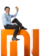 Beijing, November 13th, 2014<br /> Lei Jun CEO of Xiaomi, at the company's headquarters.