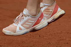 May 16, 2018 - Trnava, Slovakia - ANDREA PETKOVIC of Germany in her first round match in the Empire Slovak Open tennis tournament in Trnava Slovakia (Credit Image: © Christopher Levy via ZUMA Wire)