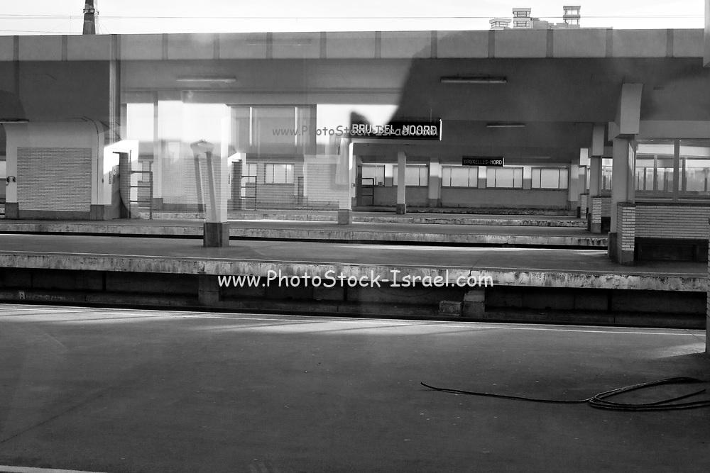 Train station in Belgium