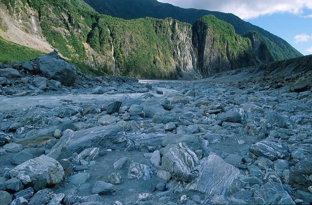 River at Fox Glacier Westland NP