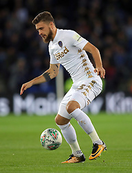 "Leeds United's Mateusz Klich during the Carabao Cup, Fourth Round match at the King Power Stadium, Leicester. PRESS ASSOCIATION Photo. Picture date: Tuesday October 24, 2017. See PA story SOCCER Leicester. Photo credit should read: Mike Egerton/PA Wire. RESTRICTIONS: EDITORIAL USE ONLY No use with unauthorised audio, video, data, fixture lists, club/league logos or ""live"" services. Online in-match use limited to 75 images, no video emulation. No use in betting, games or single club/league/player publications."