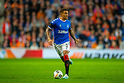 James Tavernier (#2) of Rangers FC during the Europa League match between Rangers FC and Feyenoord Rotterdam at Ibrox Stadium, Glasgow, Scotland on 19 September 2019.