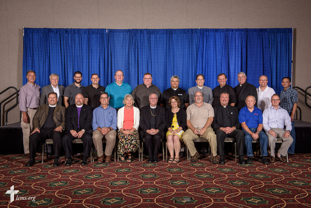 Central Illinois District group photograph at the 66th Regular Convention of The Lutheran Church–Missouri Synod on Saturday, July 9, 2016, at the Wisconsin Center in Milwaukee. LCMS/Erik M. Lunsford
