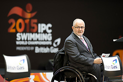 Sir Philip Craven  at 2015 IPC Swimming World Championships -  Opening Ceremony