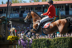 Jufer Alain, (SUI), Wiveau M<br /> BMO Nations Cup<br /> Spruce Meadows Masters - Calgary 2015<br /> © Hippo Foto - Dirk Caremans<br /> 12/09/15
