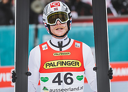 16.02.2020, Kulm, Bad Mitterndorf, AUT, FIS Ski Flug Weltcup, Kulm, Herren, 2. Wertungsdurchgang, im Bild Robert Johansson (NOR) // Robert Johansson of Norway reacts after his 2nd Competition Jump for the men's FIS Ski Flying World Cup at the Kulm in Bad Mitterndorf, Austria on 2020/02/16. EXPA Pictures © 2020, PhotoCredit: EXPA/ JFK