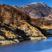 Beinn Fhionnlaidh from Loch Creran