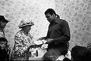 15/07/1972<br /> 07/15/1972<br /> 15 July 1972<br /> Muhammad Ali at Stewarts Hospital Fete, Palmerstown, Dublin. Ali is presented with a book.
