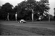 16/09/1967<br /> 09/16/1967<br /> 16 September 1967<br /> Phoenix Park Motor Racing, Kingsway Trophy Race, sponsored by Player and Wills (Ireland) Limited. Image shows G.W. Drew's A-H Sprite (39).