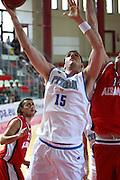 DESCRIZIONE : Teramo Giochi del Mediterraneo 2009 Mediterranean Games Italia Italy Albania<br /> GIOCATORE : Andrea Crosariol<br /> SQUADRA : Italia Italy<br /> EVENTO : Teramo Giochi del Mediterraneo 2009<br /> GARA : Italia Italy<br /> DATA : 28/06/2009<br /> CATEGORIA : tiro<br /> SPORT : Pallacanestro<br /> AUTORE : Agenzia Ciamillo-Castoria/C.De Massis<br /> Galleria : Giochi del Mediterraneo 2009<br /> Fotonotizia : Teramo Giochi del Mediterraneo 2009 Mediterranean Games Italia Italy Albania<br /> Predefinita :