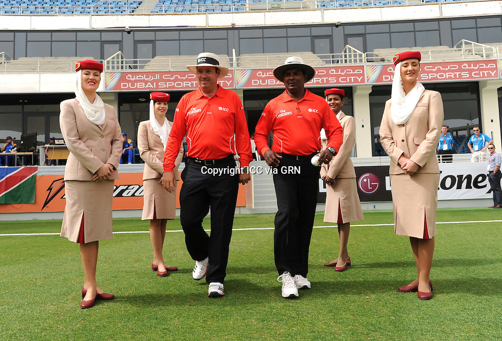 ICC World Twenty20 Qualifier UAE 2012.Ireland take on Namibia in the preliminary final to see who goes up against Afghanistan in the final later on today (Sat)..Pic shows