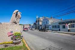 Main Street in Vinalhaven, Maine.